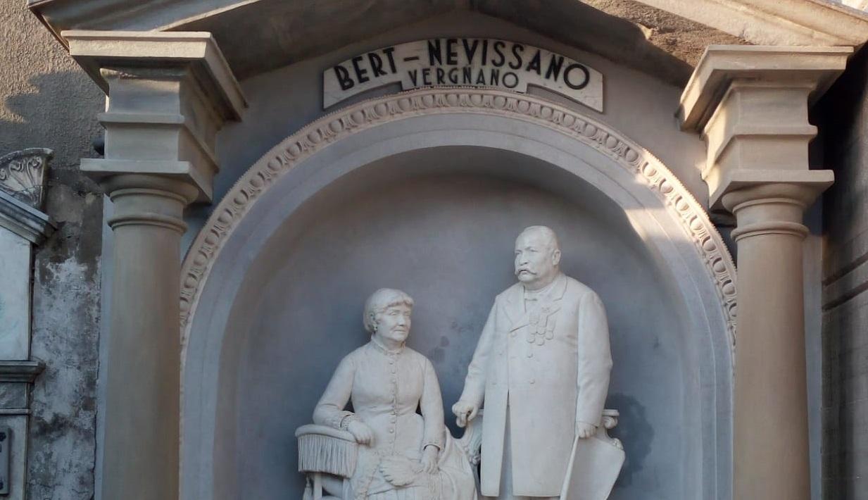 CAMBIANO – Raccolta fondi per i busti di Lorenzo Vergnano  e Onorio Mosso