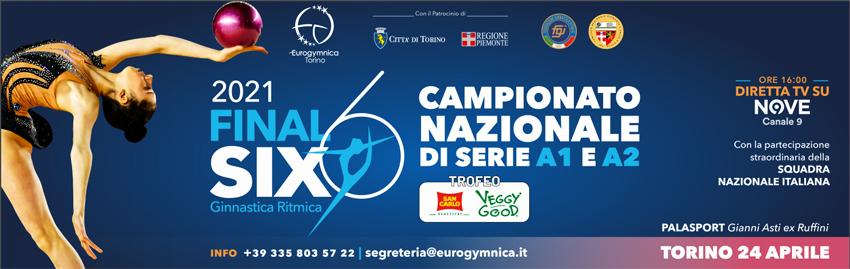 Eurogymnica ed atlete pronte alle Final Six di sabato 24 al PalaGianniAsti di Torino