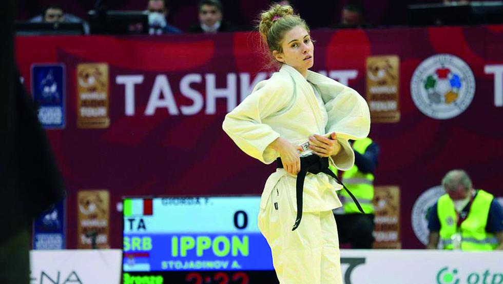 Judo: la santenese Giorda agli Europei di Lisbona