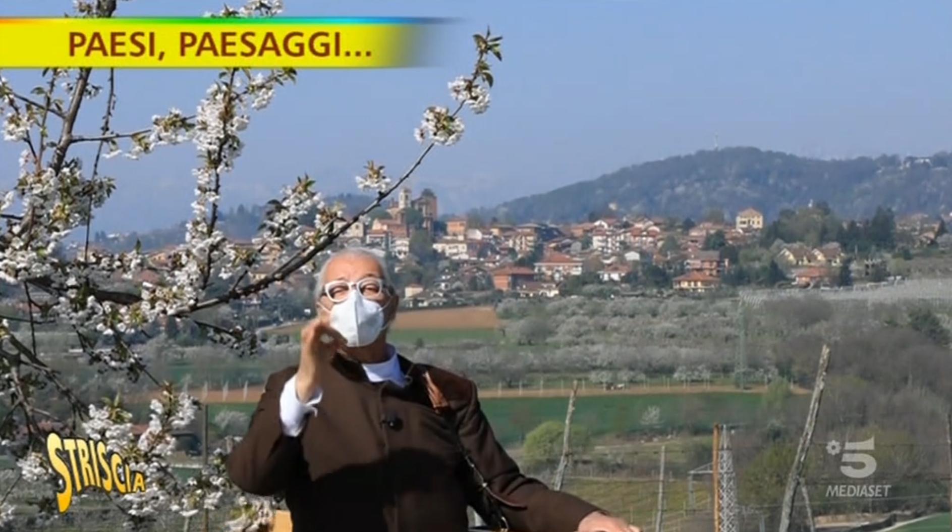 PECETTO – Il paese delle ciliegie protagonista a Striscia la notizia