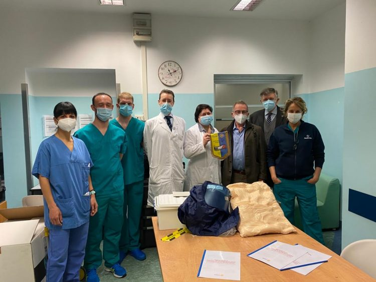 MONCALIERI – Il Rotary cittadino dona al Mauriziano presidi medici