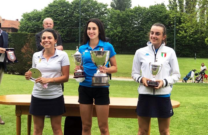 Francesca Fiorellini e Marco Florioli sono i nuovi campioni italiani Under 16 di golf