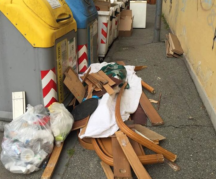 NICHELINO – Troppi abbandoni di rifiuti, l'assessore Bonino chiede più repressione all'azienda che gestisce la raccolta