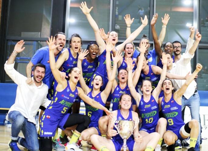 Serie A2 finale play-off, lunette corsare a Milano e l'Akronos conquista la serie A1!