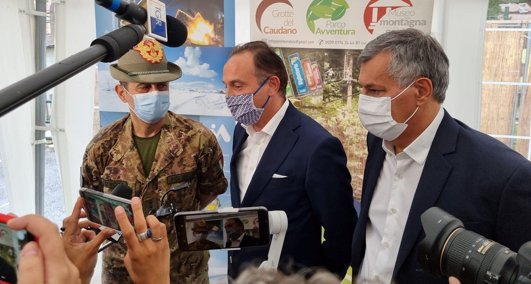 Vaccinazioni in Piemonte. Il generale Figliuolo ha presentato i dati