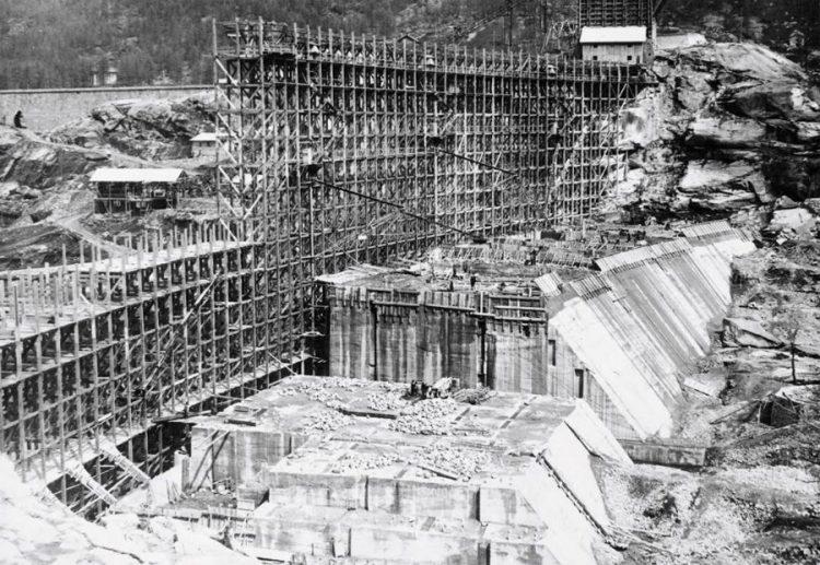 I 90 anni della diga di Ceresole