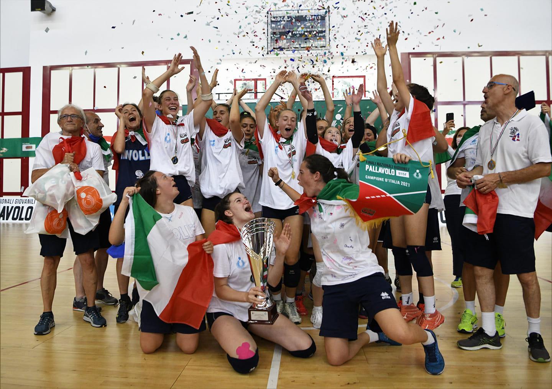 CAMBIANO – Viva i campioni dell'In Volley