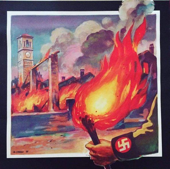 Sabato 24 luglio Salsasio commemora l'incendio del borgo del 1944
