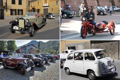 LA LOGGIA – Il Girotondo Piemonte per ricordare il presidente del Veteran car