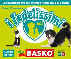 """Fino al 29 novembre i """"Fedelissimi"""", solo da Basko"""