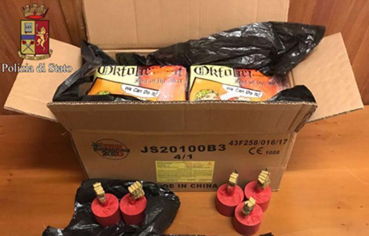 Nichelino: botti illegali sequestrati