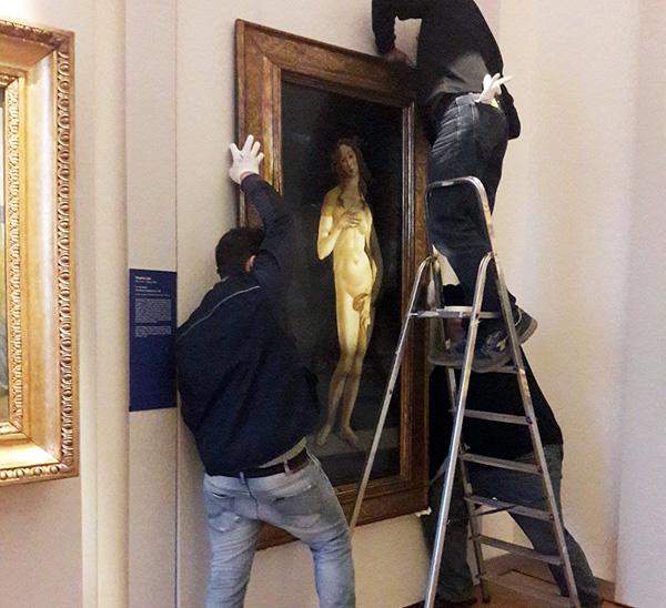 La Venere di Botticelli torna a casa