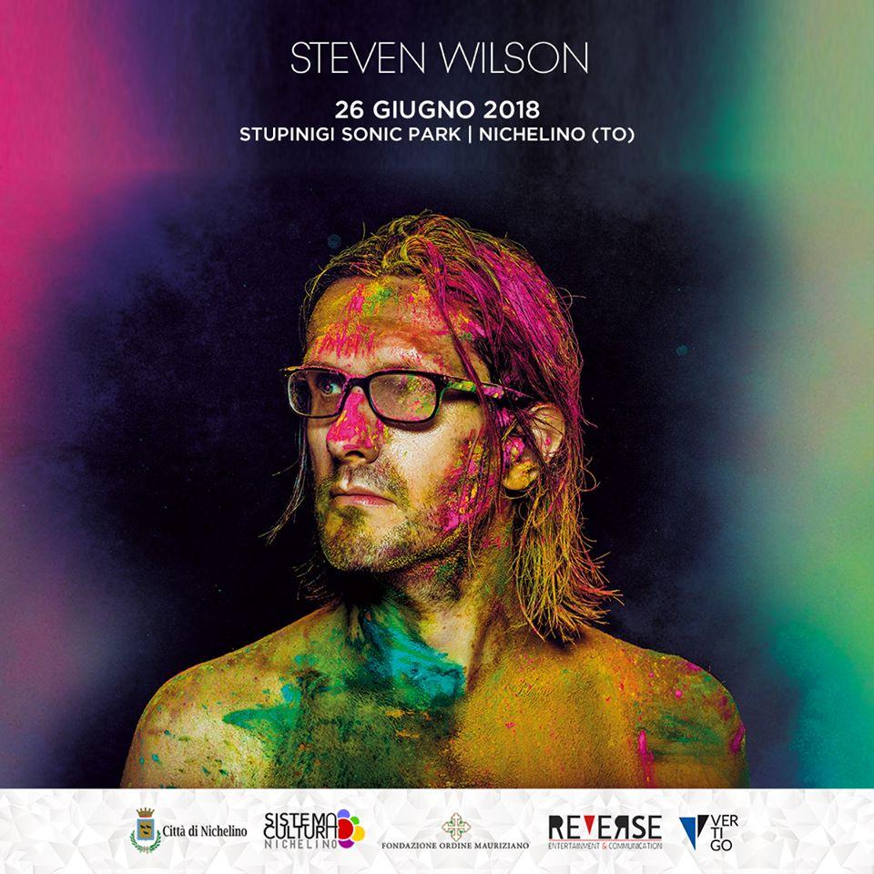 Steven Wilson in concerto a Stupinigi Sonic Park