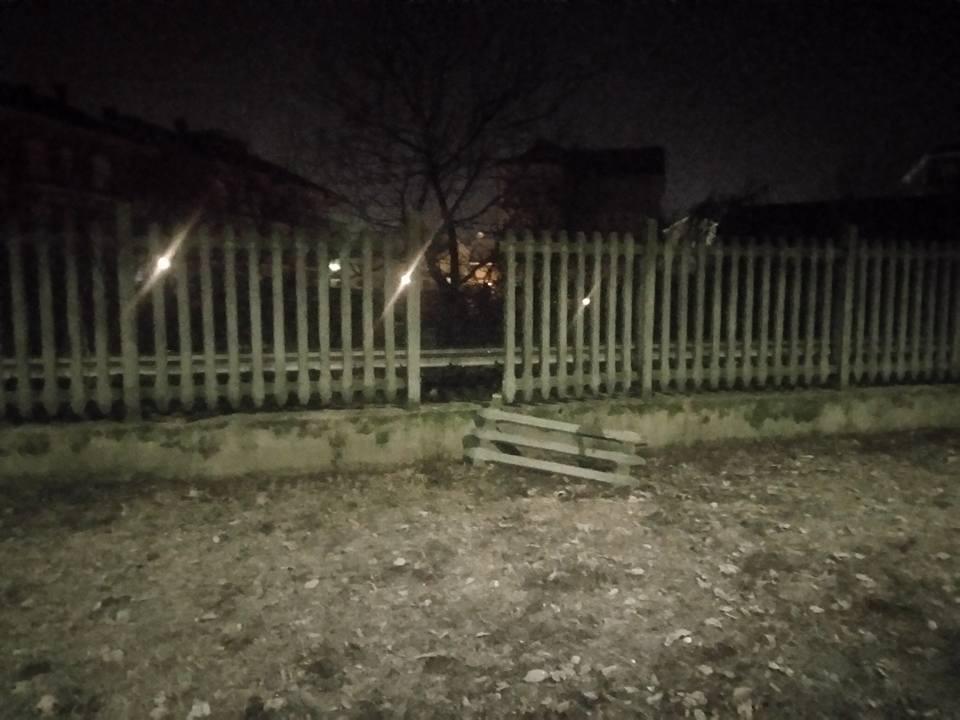 NICHELINO – Danneggiata la recinzione dell'area cani di via Bengasi