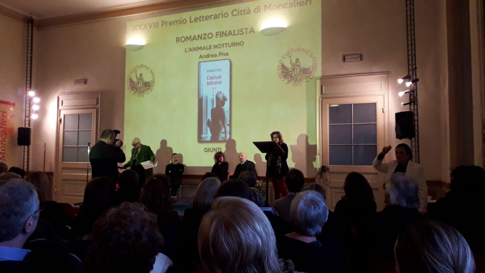 Premio letterario al Castello di Moncalieri