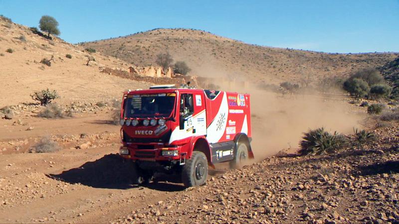 Camion moncalierese alla mitica Dakar