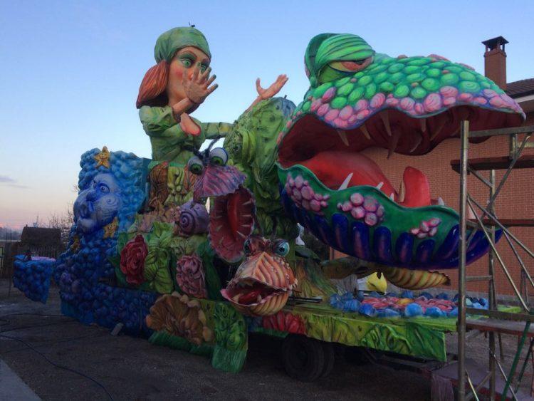 Il Carnevale di Moncalieri al 45esimo Nord