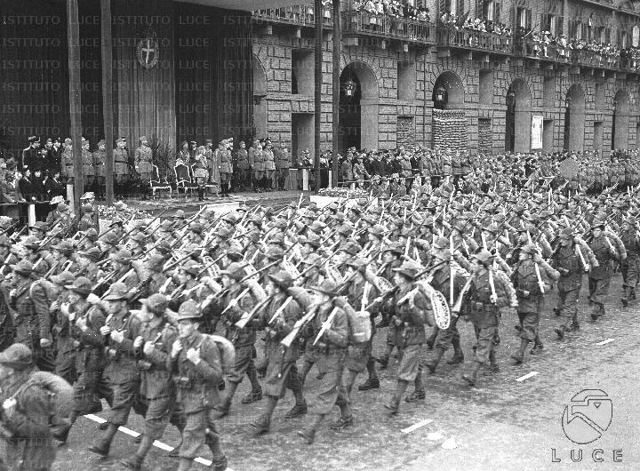 La Tridentina si addestrò in Piemonte per la Campagna di Russia