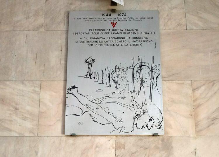 Fiaccolata in memoria dei prigionieri delle ss rinchiusi alle Nuove