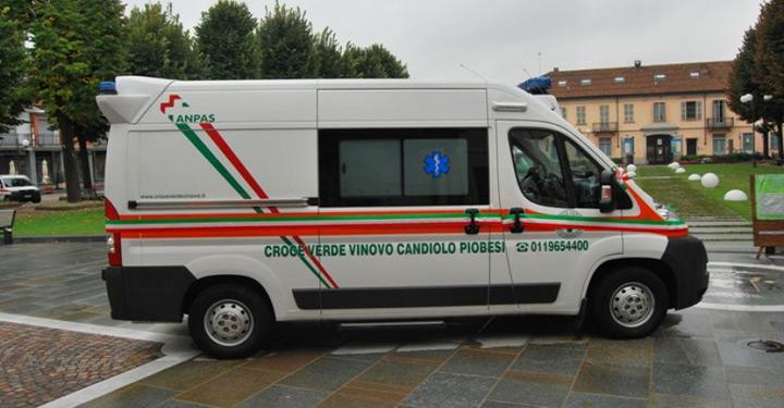 La Croce Verde di Vinovo all'incontro nazionale delle pubbliche assistenze
