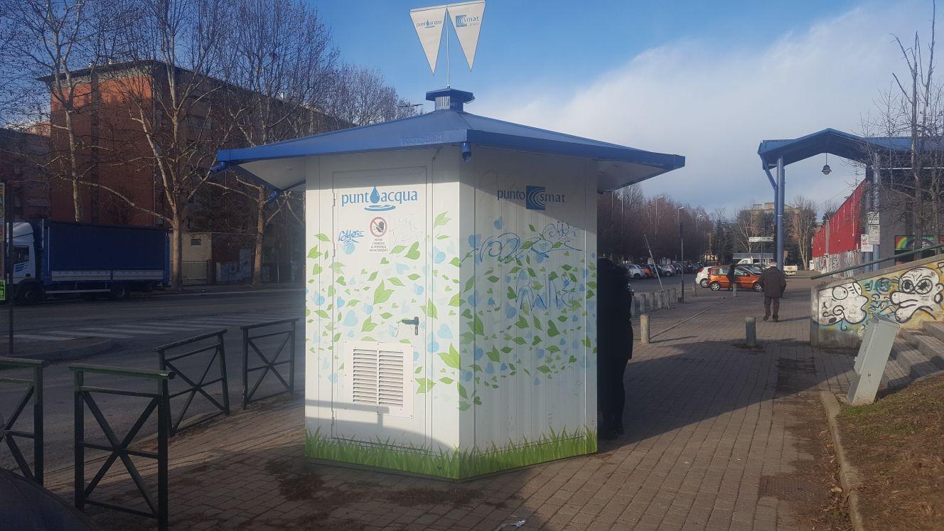 NICHELINO – Troppi atti vandalici alla casetta dell'acqua, la Smat scrive in Comune