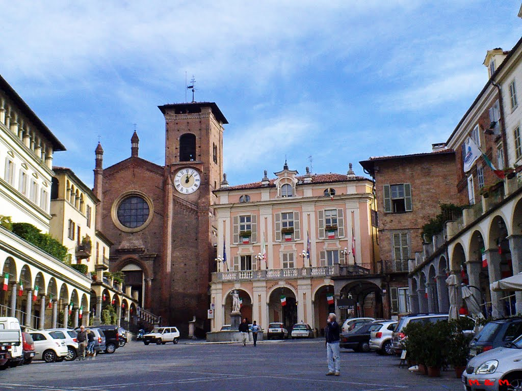 MONCALIERI – Addio al parcheggio selvaggio in via De Gasperi