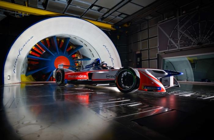 Pininfarina con il team Mahindra Formula E