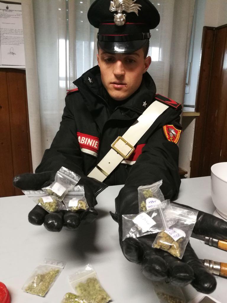 """MONCALIERI – Arrestato dai carabinieri il """"rappresentante della marijuana"""""""