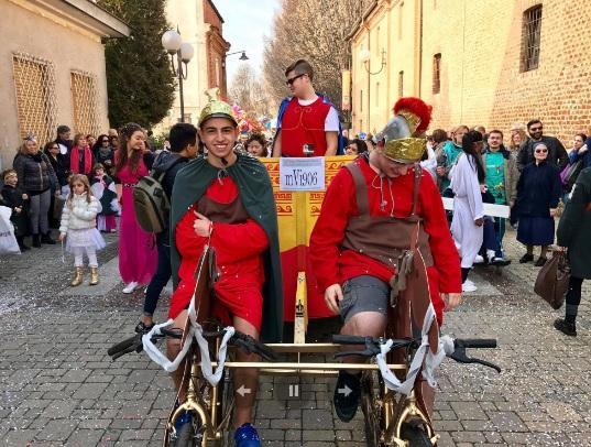 VINOVO – Carnevale degli strambicoli, le limitazioni al traffico