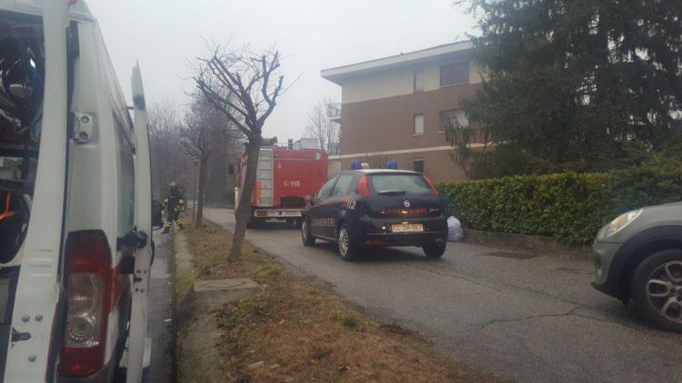 MONCALIERI – Crolla un controsoffitto in garage: ferito un artigiano