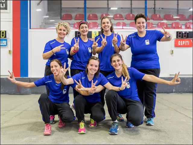 Bocce: Elisa Bongioanni protagonista della Serie A Volo con le ragazze del Carcare