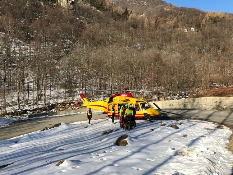 Paura per una moncalierese salvata dal soccorso alpino