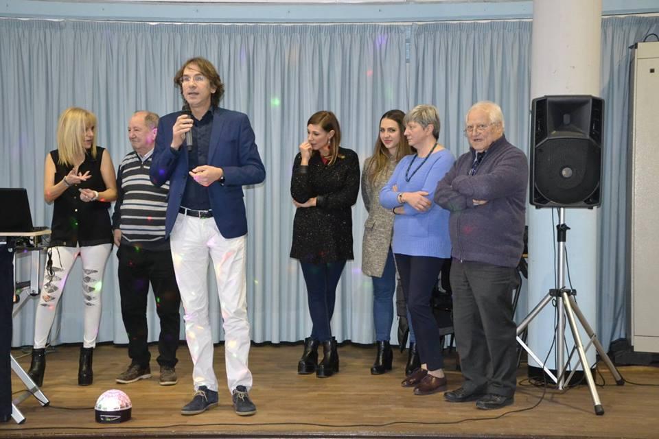 Gli auguri del sindaco Tolardo alle donne del centro Grosa di Nichelino