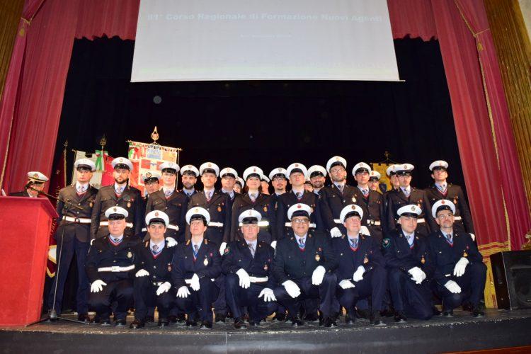A Cuneo il corso per operatori di polizia locale neo assunti promuove Santena e Carignano