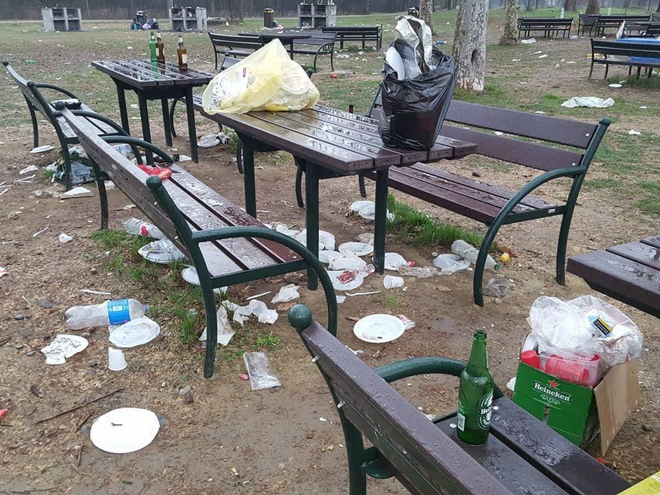 NICHELINO – Polemiche politiche per la chiusura dell'area pic nic del Boschetto