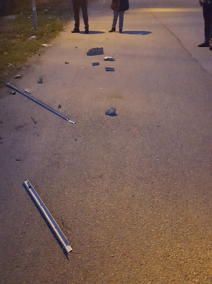 VILLASTELLONE – Crollano calcinacci dal viadotto dell'autostrada