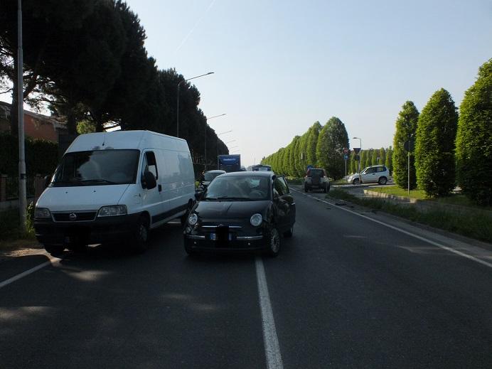 VINOVO – Grave incidente sulla provinciale 143