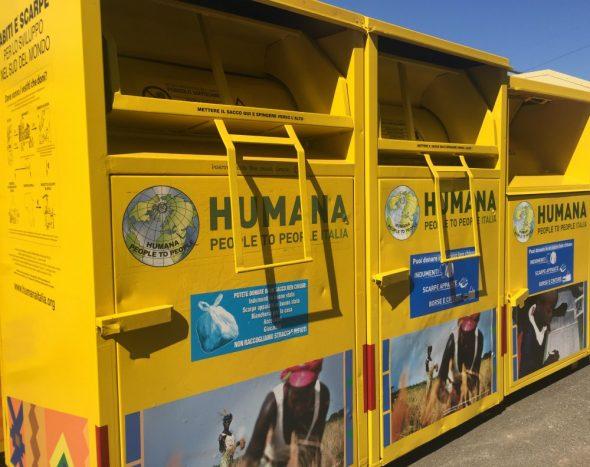 RIFIUTI – Humana premia i comuni di Moncalieri e Nichelino