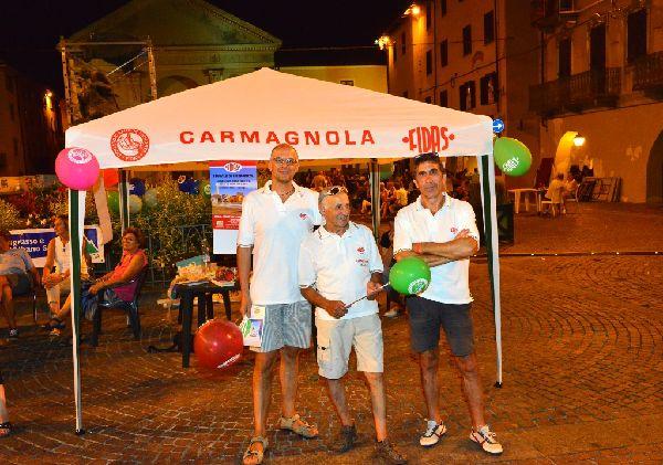 CARMAGNOLA – Successo per la serata organizzata dal gruppo Fidas