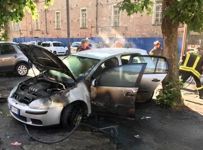 "CARMAGNOLA – Auto bruciata a Cammarata, la condanna di ""Carmagnola Insieme"""
