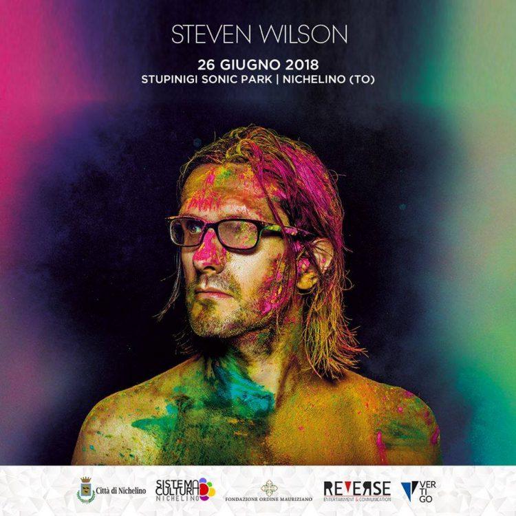 NICHELINO – Questa sera Steve Wilson allo Stupinigi Sonic Park