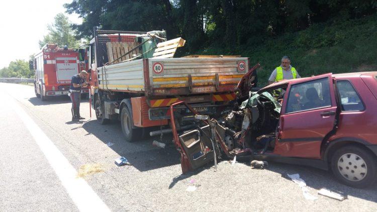 NICHELINO – Pensionato muore in un terribile incidente in tangenziale