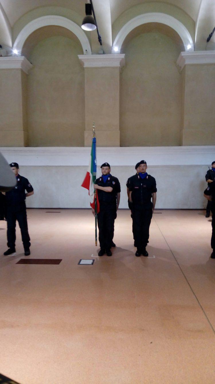 Carabinieri: Bandiera di Guerra quarantennale al castello di Moncalieri