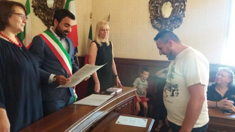 MONCALIERI – Cittadinanza italiana a quattro neo residenti