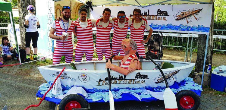Il team di Pecetto sbanca alla Red Bull Soapbox Race