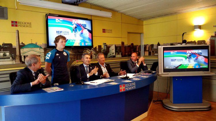Ivrea ospita i mondiali giovanili di canoa