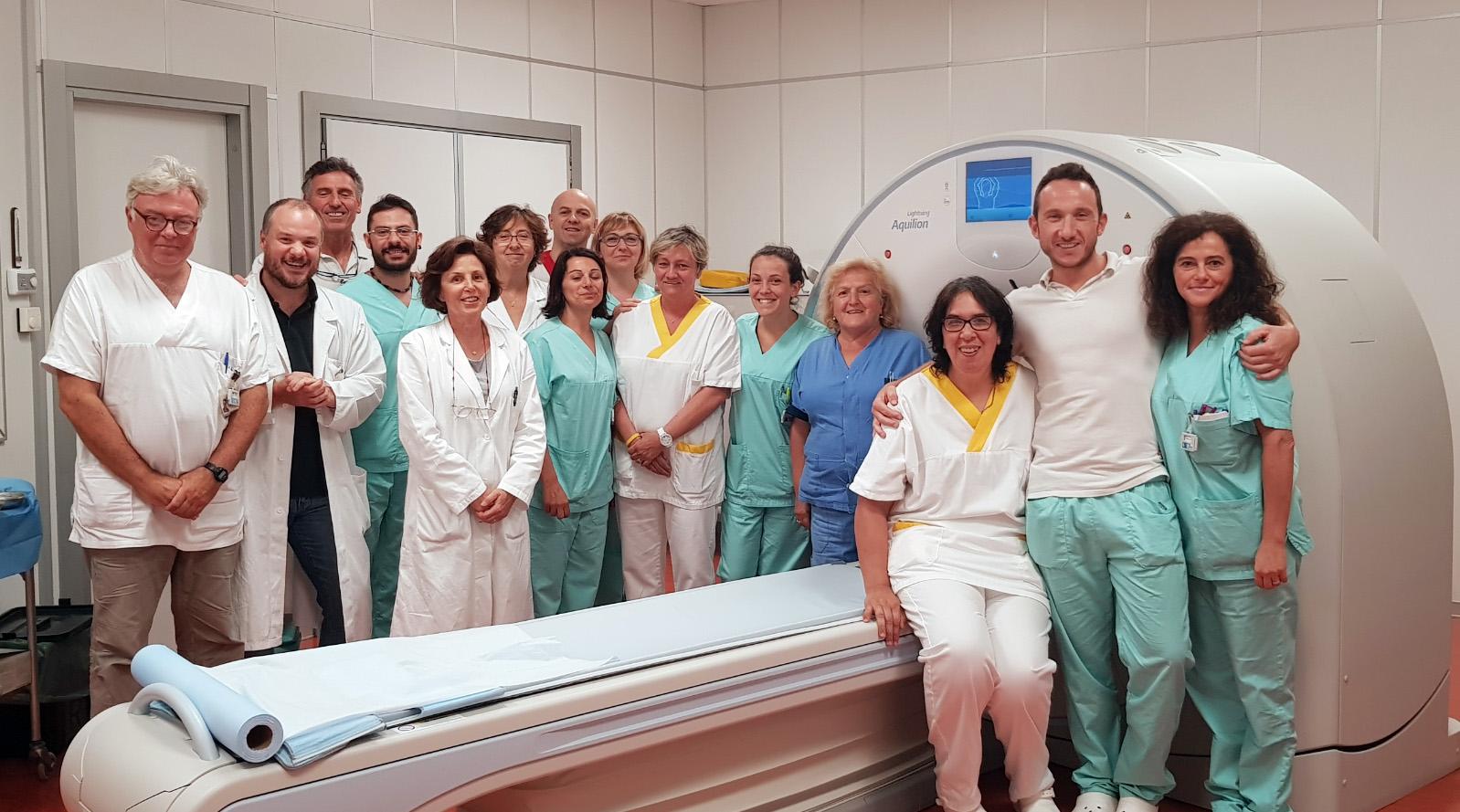 L'ospedale di Carmagnola ha una Tac tutta nuova