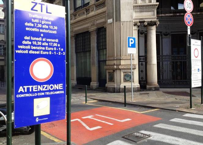 VIABILITA' – Sospesa la ztl nel centro di Torino per lo sciopero dei mezzi pubblici