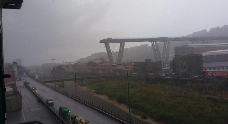 Ponte Morandi, demolizione progettata a Torino