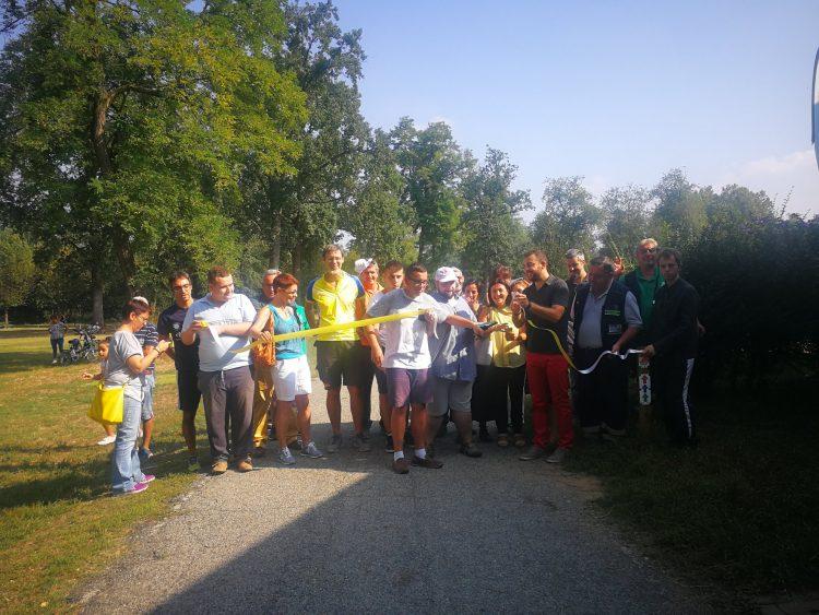 NICHELINO – Inaugurati i percorsi salute al Boschetto